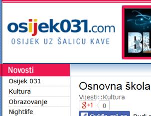 """Osnovna škola """"Mladost"""" Osijek odletjela u nebo"""
